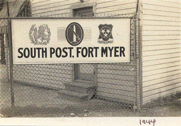 South Post Fort Myer Sign